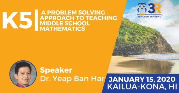 A Problem Solving Approach to Teaching Middle School Mathematics
