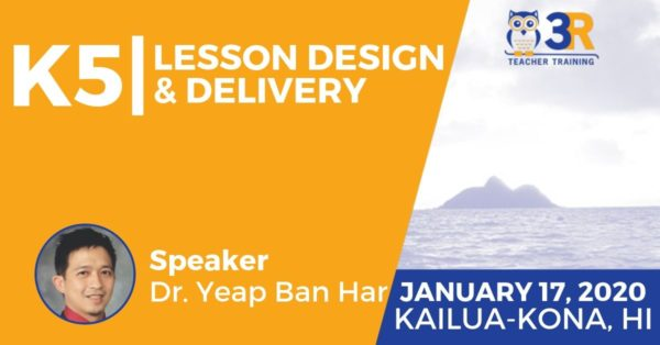 Yeap Ban Har Lesson Design and Delivery