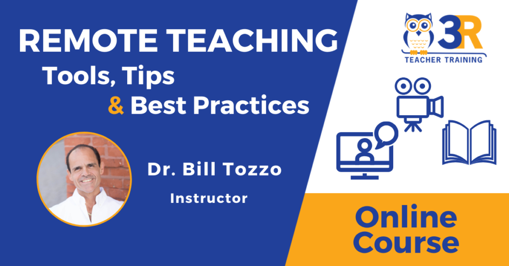 Remote Teaching Online Course