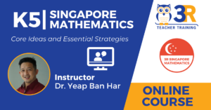 K5 Singapore Math Online Course