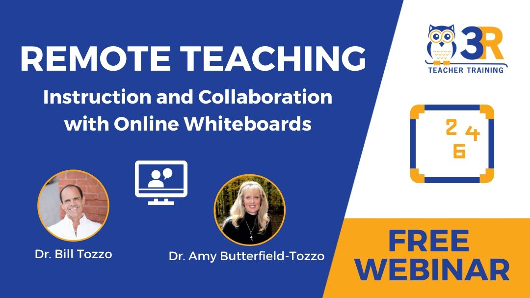Remote Teaching Instruction and Collaboration with Online Whiteboards