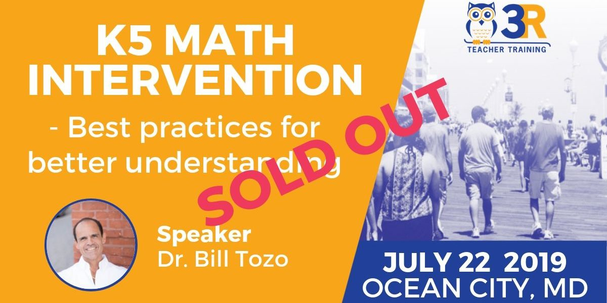 K5 Math Intervention - Sold Out